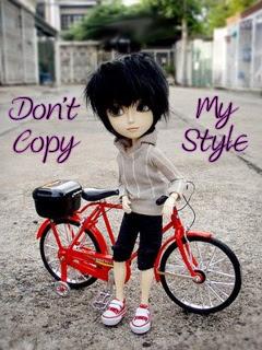 Dont Copy My Style Boy Wallpaper