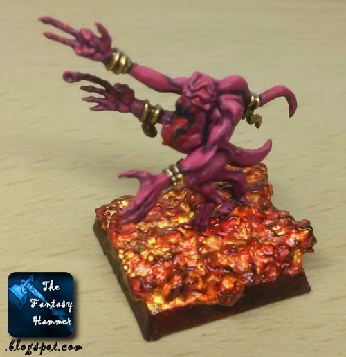 Pink Horror of Tzeentch WiP10
