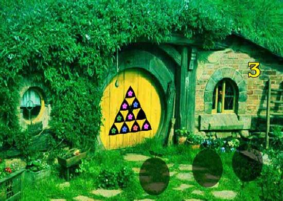 Hobbit House Dog Escape Juegos Solución