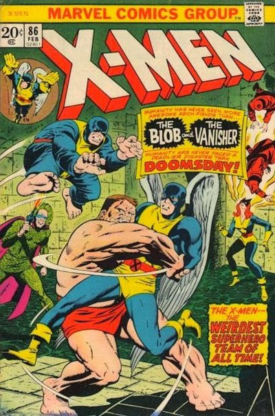 X-Men #86, the Blob and the Vanisher
