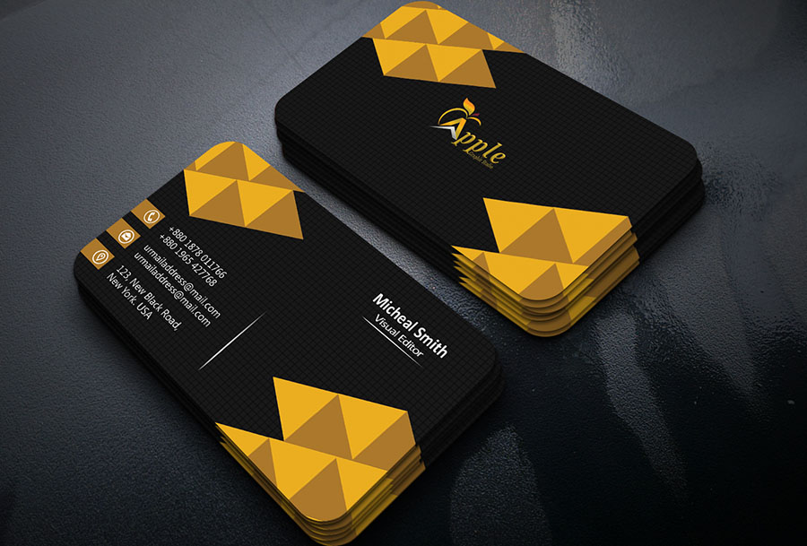 how to create a 3d business card