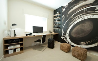 Moderna y juvenil oficina