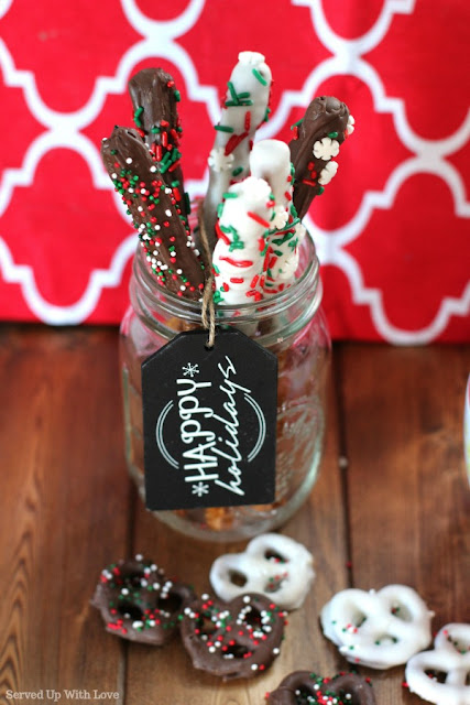 Chocolate Covered Pretzel recipe from Served Up With Love
