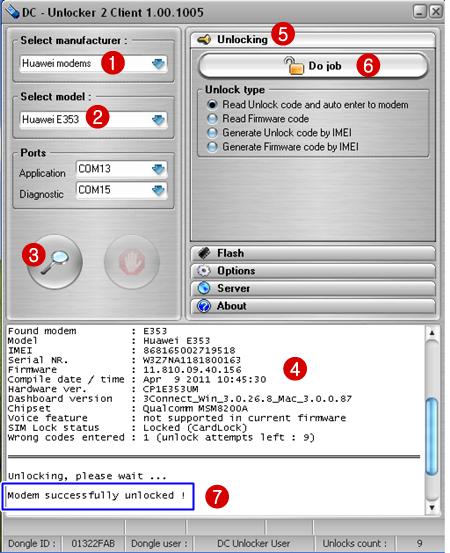 Télécharger DC-Unlocker 2 Client Cracked
