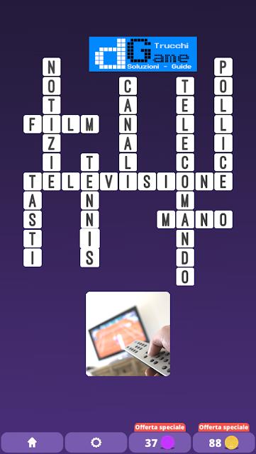 Soluzioni One Clue Crossword livello 12 schemi 11 (Cruciverba illustrato)  | Parole e foto