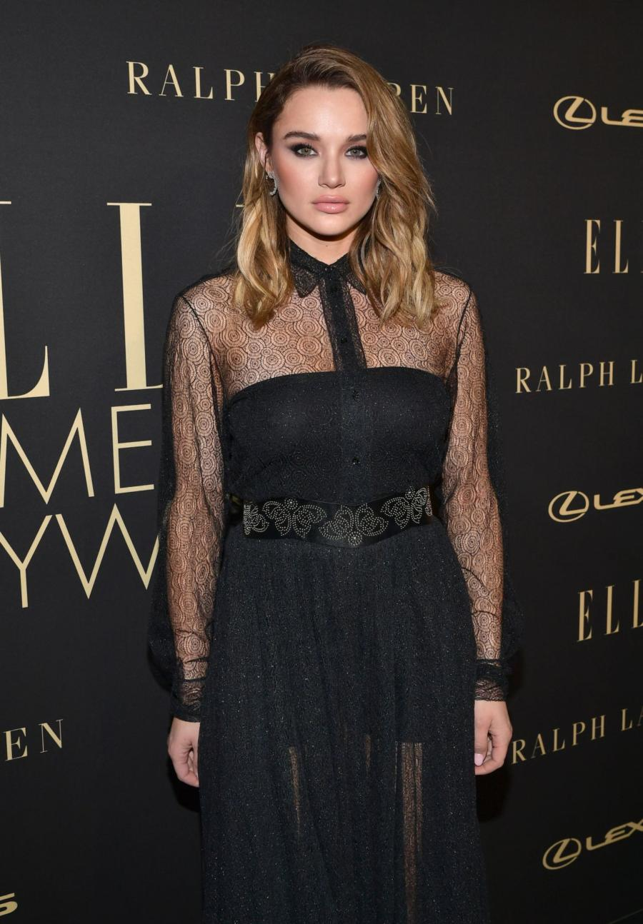 Hunter King at ELLE's 2019 Women In Hollywood Event
