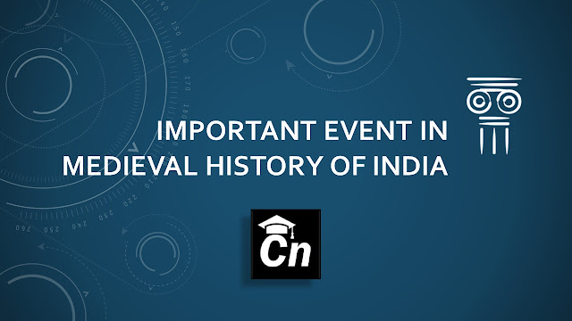Important events in History, Important Dates in Indian History, Important Dates in history asked in competitive Exams like SSC, RRB, IB