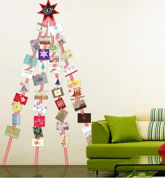 Shabby in love christmas card ideas - Christmas card display ideas ...