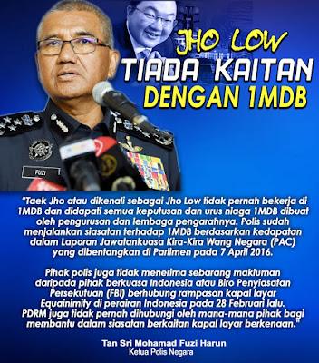 Image result for KPN - jho low tak terlibat dgn 1mdb