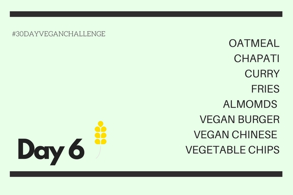 Vegan Challenge | Day 6