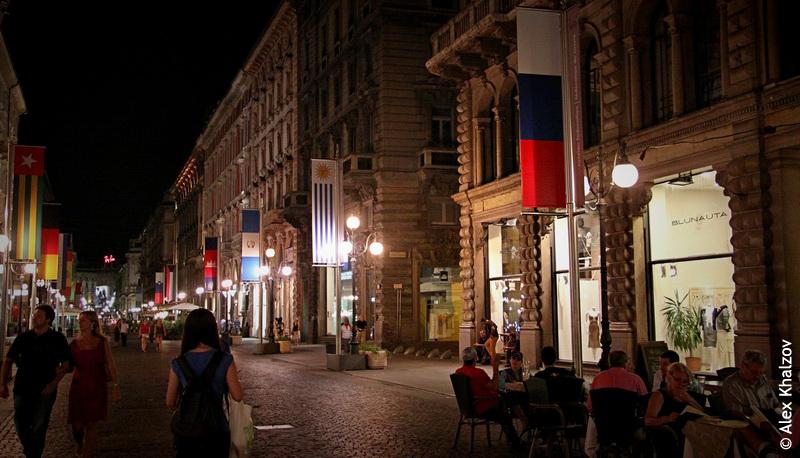 Россия в Милане