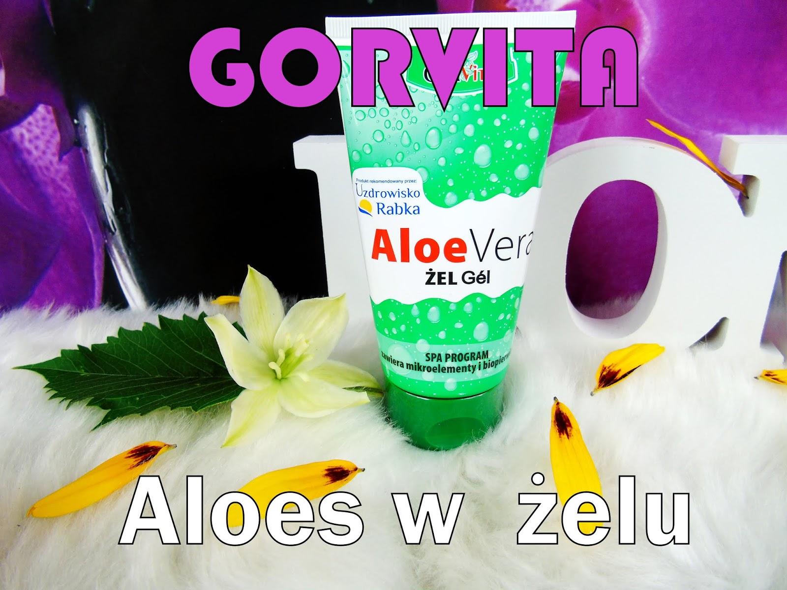 Aloe VERA - Żel aloesowy marki GORVITA