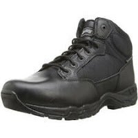 "Magnum Mens 5"" VIPER PRO 5 Side Zip SZ WP Black Police Army Combat Boots 5479"