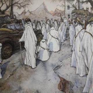Les amours d'un fantôme en temps de guerre   Nicolas de Crécy