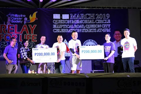 Brother Group Joins Quezon City Relay for Life 2019