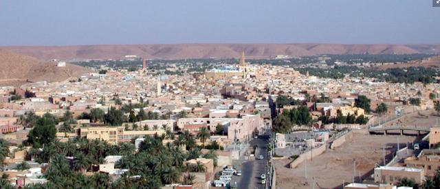 Desert garden of Ghardaïa, Algeria