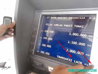cara transfer uang lewat bank bri ke atm bank lain 2