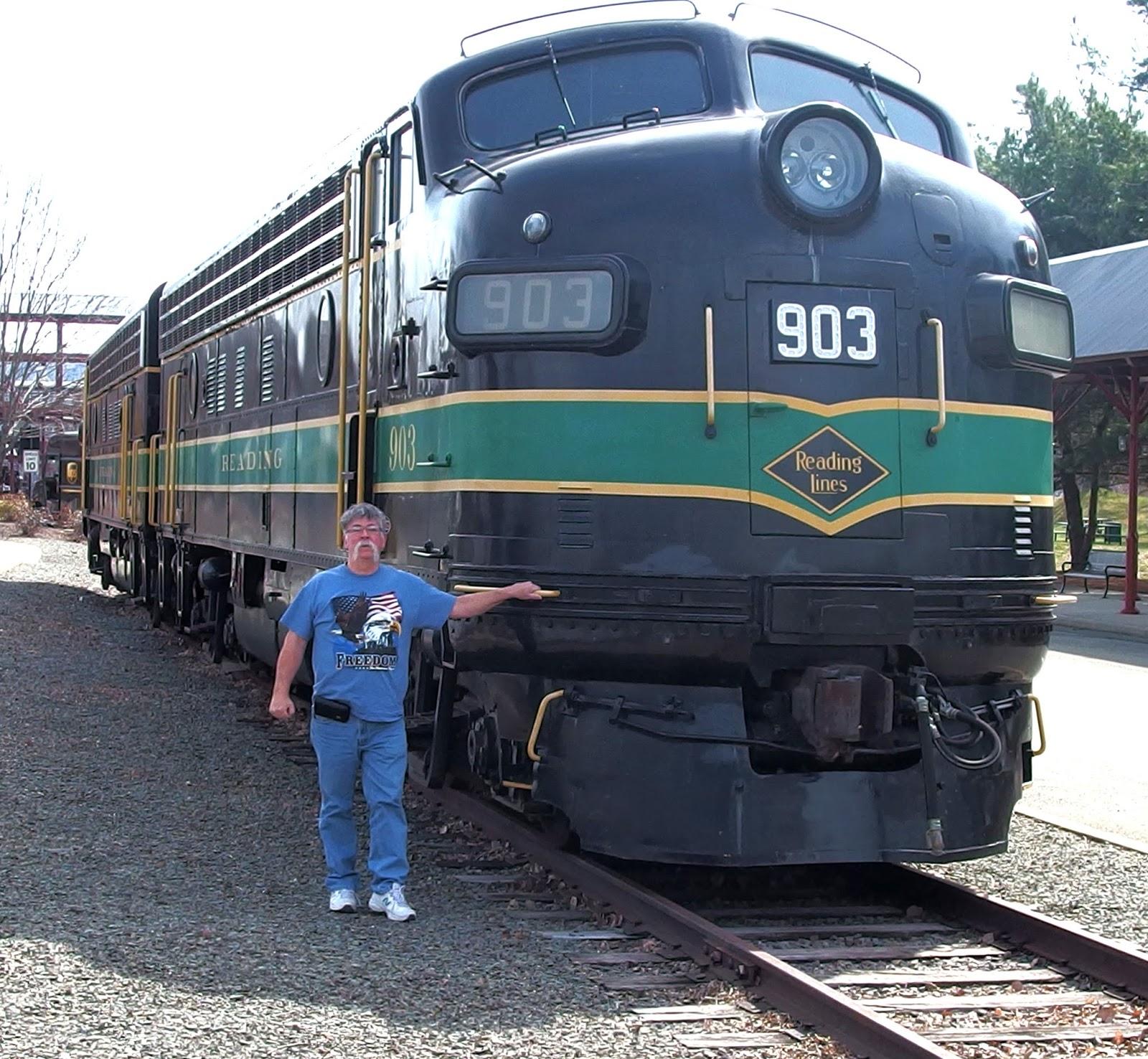 header: East Coast Large Scale Train Show