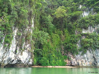 Ao Phang Nga Bay secluded beach on Koh Chong Lat island