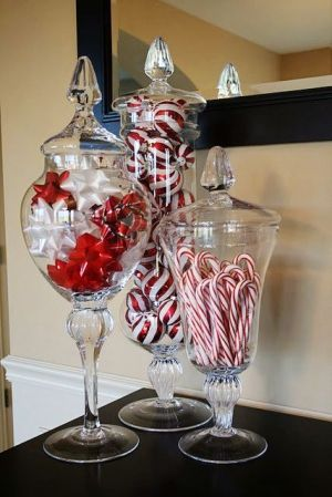 Decoracion DIY Navidad: Candy jarron chucherias