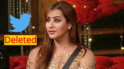 Bigg Boss Winner Shilpa Shinde Deleted Her Twitter Account