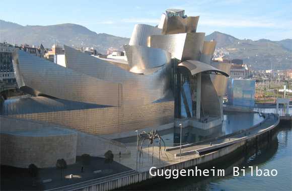 museum guggenheim bilbao spanyol