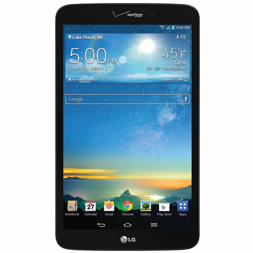 LG G Pad 8.3 for Verizon receives Android 4.4 KitKat update