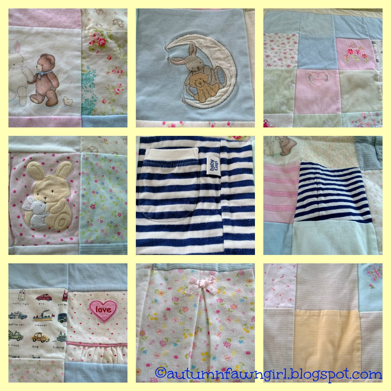 Brandi Raae Q Is For Quilt Made Out Of Baby Clothes