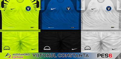 PES 6 Kits FC Viitorul Constanta Season 2017/2018 by Alessandro Edition
