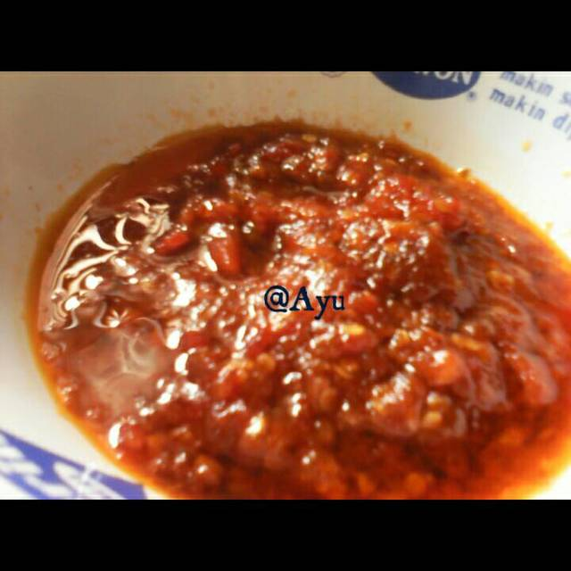 Resep sambal bawang ala rumah makan ciwidey