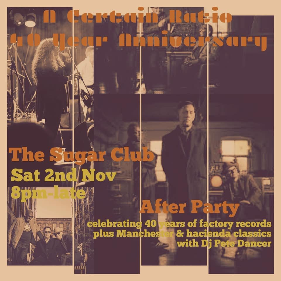 2 November 2019, Sugar Club, Dublin, Ireland - ACR Gigography