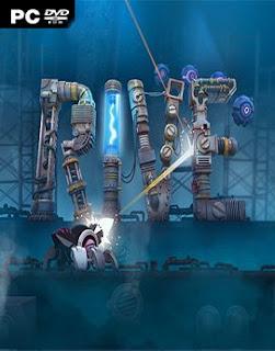 غلاف لعبة RIVE روبوت القرصنة والقتال