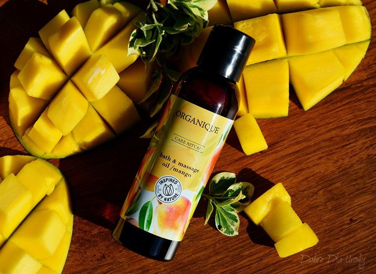 Rytuał Organique o zapachu słodkiego mango - olej do kąpieli i masażu