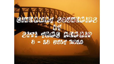http://sitiyangmenaip.blogspot.com/2018/07/giveaway-souvenirs-by-sitiyangmenaip.html