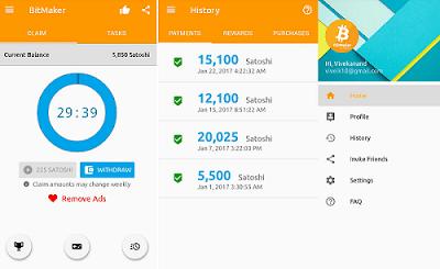 cara dapat bitcoin gratis di android