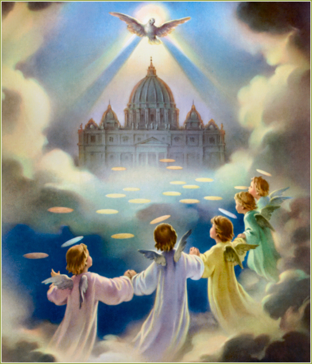 I believe in the Holy Ghost, the Holy Catholic Church, the communion of saints, the forgiveness of sins, the resurrection of the body, and life everlasting. Amen.