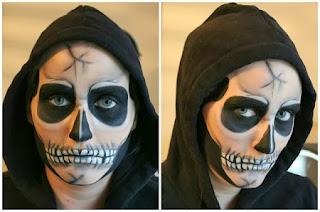 Imagenes Para Pintar Caritas De Halloween Mechita Coronel Caritas