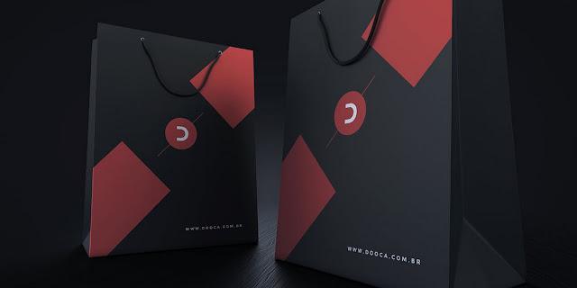 mockup  psd : Corporate.DVD1 - Black_Stationery_Branding_Mock-Up