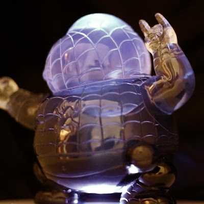 Marvel's Spider-Man Inspired Famous Chunkies Clear Chunky Spidey Edition Resin Figure by Alex Solis