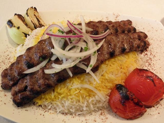 Comida iraní, Kebab