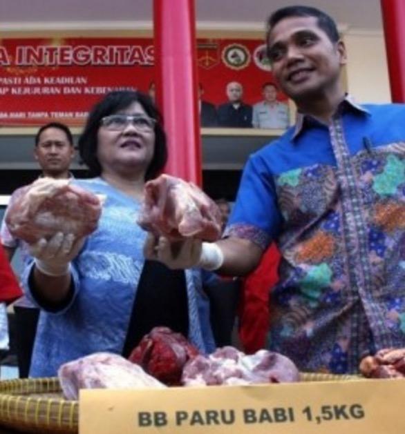 Jual Daging Babi Yang Dikatakan Daging Lembu, 3 Peniaga Ditahan