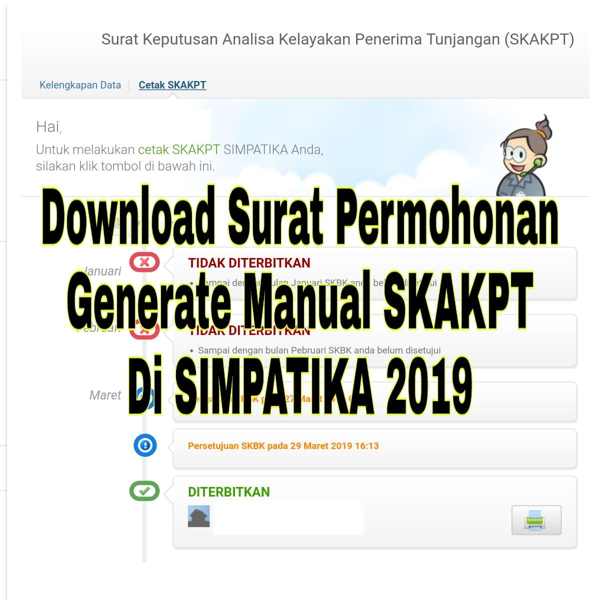 Download Surat Permohonan Generate Manual Skakpt Di
