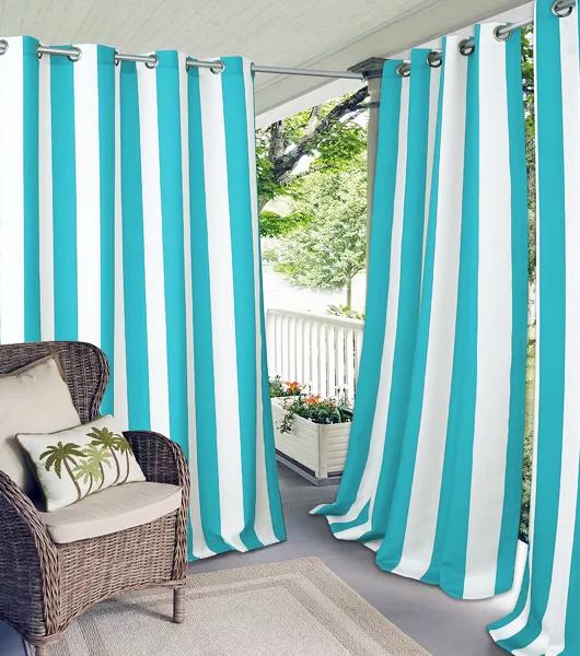 outdoor coastal curtain panels