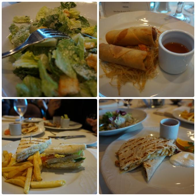 msc divina karibian risteilyn ruokailut pääruokasalissa, mdr