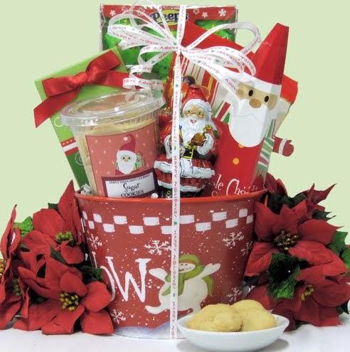 Cestas de navidad para regalar a los ni os mi kinder for Adornos navidenos para regalar