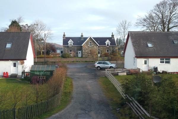 écosse highlands île mull salen b&b Larrachbeag