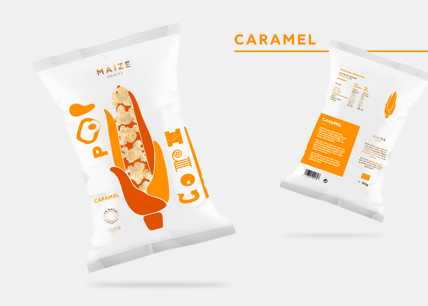 Maize Snacks (Concept) on Packaging of the World - Creative
