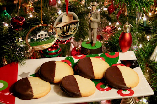 Dallas Holiday Bakeoff 2016: Sue Ellen's Black and White Cookies