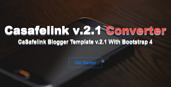 Safelink Blogger Template