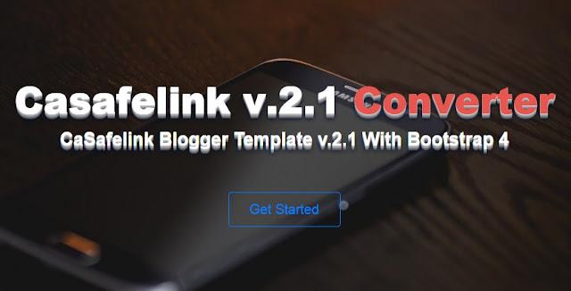 Free Premium Safelink Template Blogger v.2.1